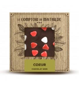 TABLETTE CHOCOLAT LAIT COEUR 80G