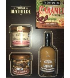 COFFRET IL ETAIT UNE FOIS CARAMEL & CHOCOLAT