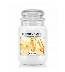 GRANDE JARRE COUNTRY CANDLE CHEERS