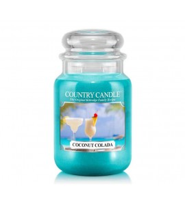 GRANDE JARRE COUNTRY CANDLE COCONUT COLADA