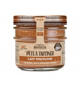 PATE A TARTINER LAIT NOISETTE SPECULOS 250G
