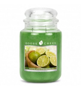 Grande Jarre - Citron vert & Bamboo / White Lime and Bamboo