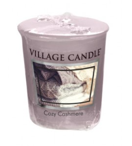 VOTIVE VILLAGE CANDLE COZY CASHMERE