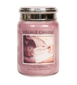 GRANDE JARRE VILLAGE CANDLE COZY CASHMERE