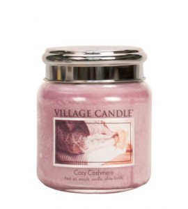 MINI JARRE VILLAGE CANDLE COZY CASHMERE