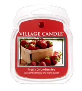 CIRE VILLAGE CANDLE FRESH STRAWBERRIES
