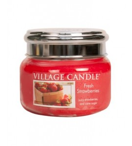 PETITE JARRE VILLAGE CANDLE FRESH STRAWBERRIES