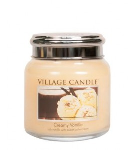 MINI JARRE VILLAGE CANDLE CREAMY VANILLA