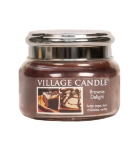 PETITE JARRE VILLAGE CANDLE BROWNIE DELIGHT