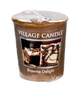 VOTIVE VILLAGE CANDLE BROWNIE DELIGHT
