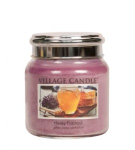 MOYENNE JARRE VILLAGE CANDLE HONEY PATCHOULI
