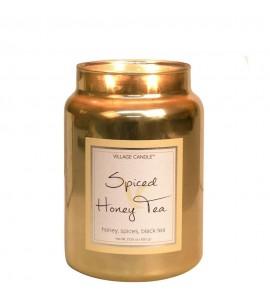 GRANDE JARRE VILLAGE CANDLE SPICED HONEY TEA