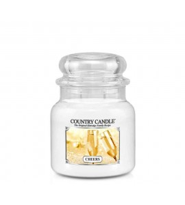 MOYENNE JARRE COUNTRY CANDLE CHEERS