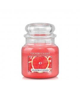 MOYENNE JARRE COUNTRY CANDLE GRAPEFRUIT GINGER