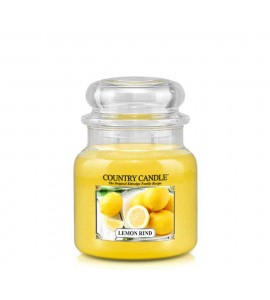 MOYENNE JARRE COUNTRY CANDLE LEMON RIND