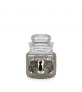 PETITE JARRE COUNTRY CANDLE GREY