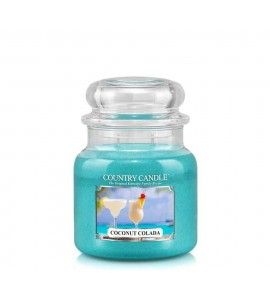 MOYENNE JARRE COUNTRY CANDLE COCONUT COLADA