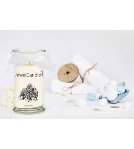 JewelCandle Fluffy Cotton Boucles d oreilles