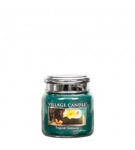 MINI JARRE VILLAGE CANDLE TROPICAL GETAWAY