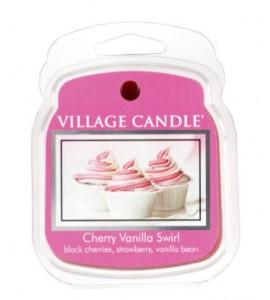 CIRE VILLAGE CANDLE CHERRY VANILLA SWIRL