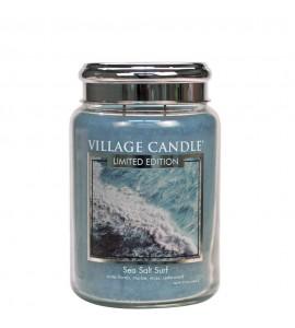 GRANDE JARRE VILLAGE CANDLE SEA SALT SURF