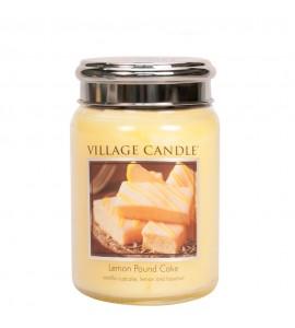 GRANDE JARRE VILLAGE CANDLE LEMON POUND CAKE