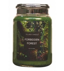 GRANDE JARRE VILLAGE CANDLE FORBIDDEN FOREST