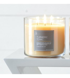 3 MECHES VILLAGE CANDLE TURMERIC TONIC
