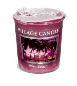 VOTIVE VILLAGE CANDLE PALM BEACH