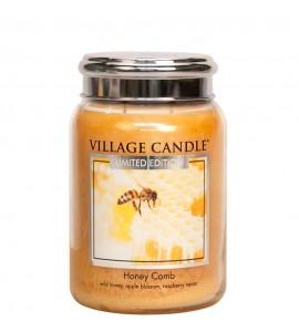GRANDE JARRE VILLAGE CANDLE HONEY COMB