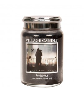 GRANDE JARRE VILLAGE CANDLE RENDEZ-VOUS