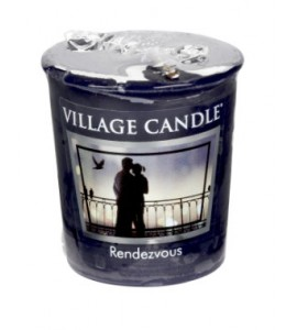 VOTIVE VILLAGE CANDLE RENDEZ-VOUS