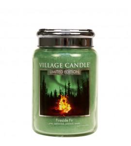 GRANDE JARRE VILLAGE CANDLE FIRESIDE FIR