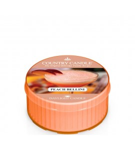 DAYLIGHT COUNTRY CANDLE PEACH BELLINI