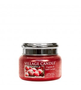 PETITE JARRE VILLAGE CANDLE CYPRESS & ICED