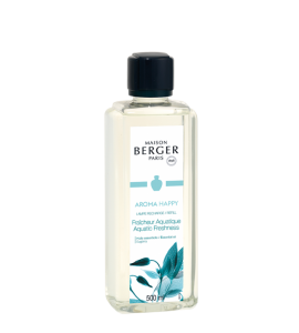 RECHARGE LAMPE BERGER AROMA HAPPY 500ml