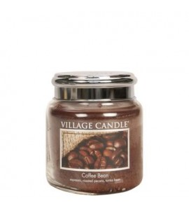 MOYENNE JARRE VILLAGE CANDLE COFFEE BEAN