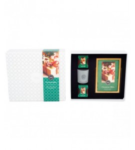 COFFRET CHRISTMAS BLISS VOTIVES/SACHET BRIDGEWATER