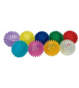 BALLE DE MASSAGE SYNTHETIQUE couleurs assorties