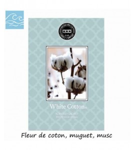 SACHET PARFUMEE WHITE COTTON BRIDGEWATER