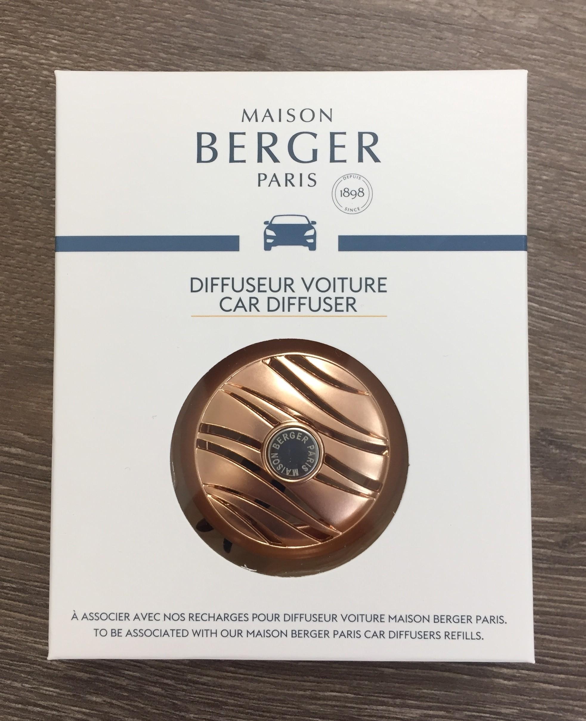 CUIVRE OR DIFFUSEUR DE PARFUM POUR VOITURE