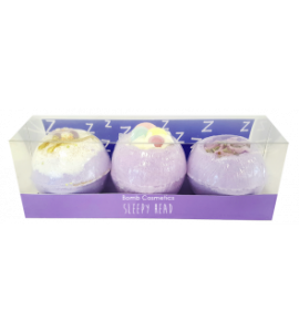 COFFRET BOULE DE BAIN SLEEPY HEAD