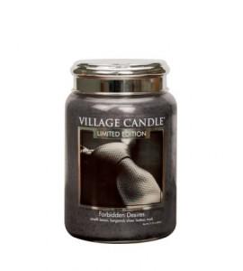 GRANDE JARRE VILLAGE CANDLE FORBIDDEN DESIRES