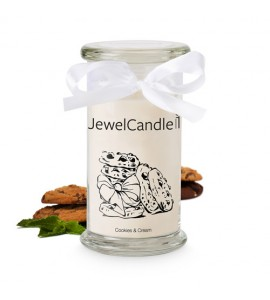JewelCandle Cookies and Cream Bague L
