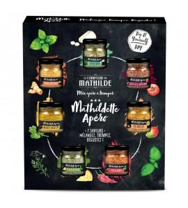 COFFRET MATHILDETTE APERO 7 SAVEURS