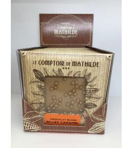 TABLETTE CHOCOLAT BLOND BILLES CARAMEL 80G