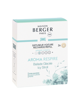 DIFFUSEUR VOITURE AROMA RESPIRE RECHARGE