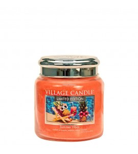 MOYENNE JARRE VILLAGE CANDLE SUMMER VIBES