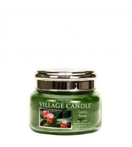 PETITE JARRE VILLAGE CANDLE CACTUS FLOWER