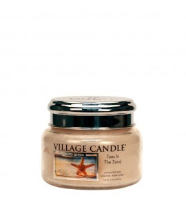 PETITE JARRE VILLAGE CANDLE TOES IN THE SAND